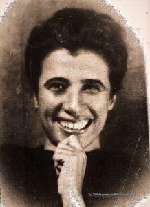 Młoda Luciana Frassati-Gawrońska